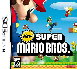 New Super Mario Bros for Nintendo DS, box and manual
