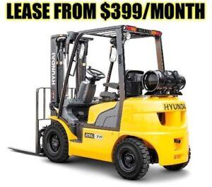 Brand New Hyundai Forklift $399/Month