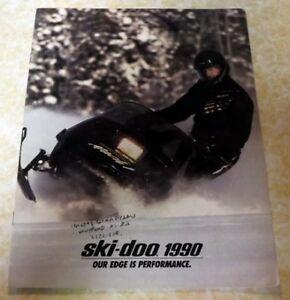 1990 Skidoo Brochure