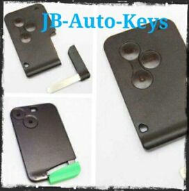 replacement key card supply & programming to your renault. Keycard remote fob. megane scenic laguna