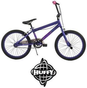 "NEW* HUFFY BRAZEN 20"" BMX BIKE GIRL'S BIKE PURPLE BICYCLE 102978033"