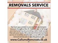 Callums Removals 07734429637 MAN & VAN SERVICE Milton Keynes Bedford Northampton