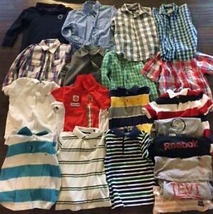20 Piece Boys 6-7 lot -All name brands dress/polo lot