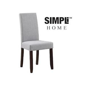 NEW SIMPLI HOME PARSON DINING CHAIR DOVE GREY - SINING CHAIR 105369991