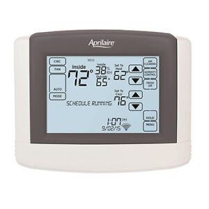 3x Aprilaire Programmable Thermostats for three zones