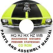 Holden Statesman Parts