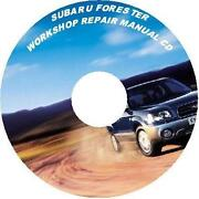 Subaru Forester Workshop Manual