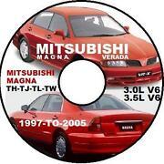 Mitsubishi Magna Manual