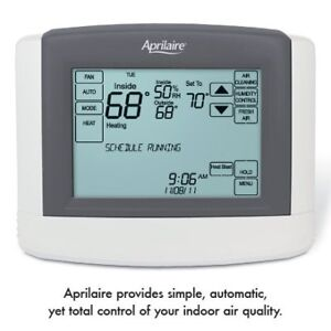 APRILAIRE TOUCHSCREEN ELECTRONIC DIGITAL THERMOSTAT