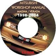 Workshop Manual Mitsubishi Magna