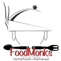 Food Monks Inc.-Tiffin Service-Special Student Packages ($4.99)