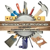 Rénovation Dave Provencher