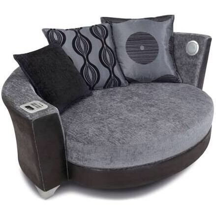 Perfect DFS Cuddle Chair / Sofa With Media Centre