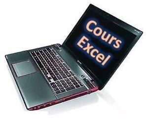 /Excel/ Cours avec exercices axés sur la pratique (130$)