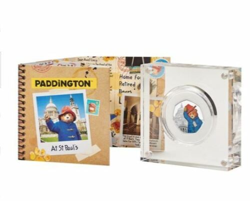 2019 paddington bear coin