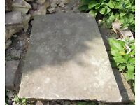 Reclaimed York Stone paving slabs (approx 6sqm)