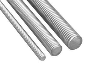 "Threaded Rod 1/2""-13 x 10 ft ASTM A307 Gr A Zinc Plated Low Carbon Steel"