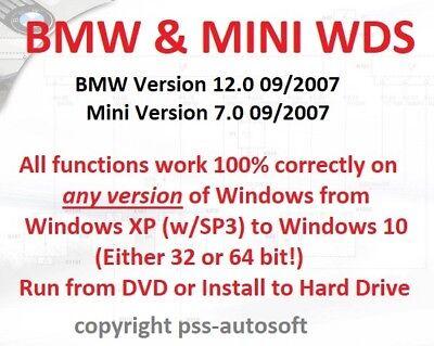 BMW & Mini Wiring Diagram System (WDS) 100% functional all 32 & 64 bit (Bit Diagram)