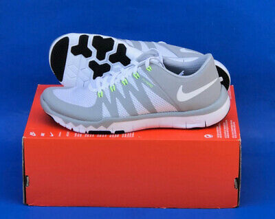 info for 416d7 dd2db MENS NIKE FREE TRAINER 5.0 V6 TRAINING SHOES   SIZE 10   WHITE-WOLF GREY
