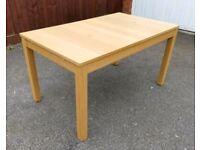 Ikea OAK Bjursta Extending Table 140-220cm FREE DELIVERY 402