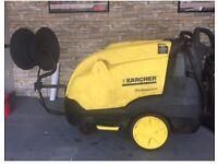Karcher hds hot wash pressure washer