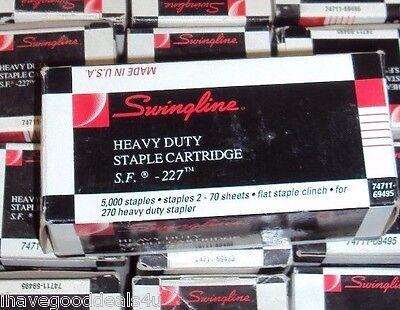 Swingline 69495 Sf227 Heavy-duty Staple Cartridge F69270 38 5000 Staples