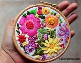 2 Week Hand Embroidery Class