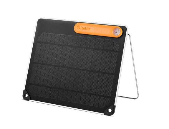BioLite Solar Panel 5 Lightweight Compact Solarpanel Adventure Motorcycle Biker
