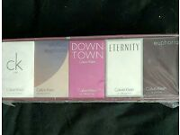 Calvin Klein Womans Perfume Box Set Brand New