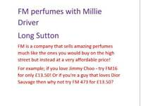 FM perfume, designer perfume at a cheaper price!