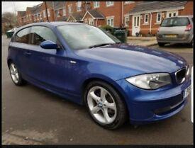 2009 BMW BLUE Sports 1 Series