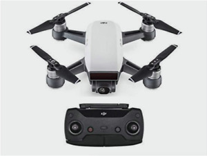 DJI Spark Drone With Remote & accessories