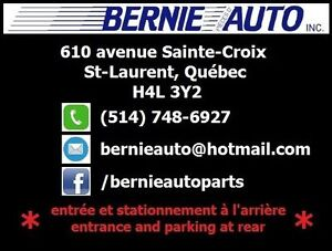 PIÈCES D'AUTO A BAS PRIX / AUTO PARTS AT LOW PRICES