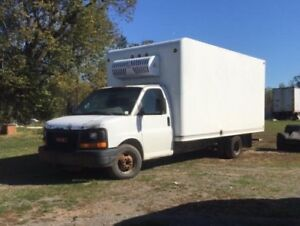 2005 GMC 3500 with 16 ft refrigerated box   Trade?