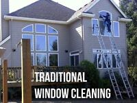 Window cleaning and associated cleaning