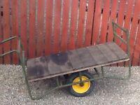 Warehouse trolley cart