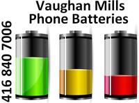 VAUGHAN MILLS STORE - NEW BATTERY FOR ANY SMARTPHONES