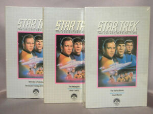 Complete Star Trek series VHS