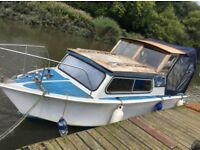 21ft Relcraft Cabin Cruiser - Boat ''With mooring - marble hill house - TW1 2NL''