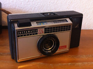 appareil photo ancien kodak instamatic camera 224 ebay. Black Bedroom Furniture Sets. Home Design Ideas