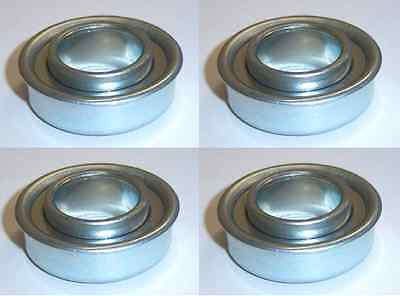 4 pack Flange Bearing 5/8 id x 1 3/8 od on Rummage