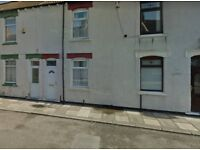 2 bedroom terraced town house for rent.
