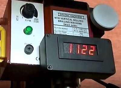Sieg X2 X2d Harbor Freight Grizzly Mini Mill Spindle Tachometer