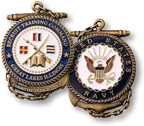 Navy Challenge Coin Ebay