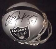 Bo Jackson Signed Mini Helmet