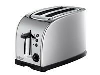 Russell Hobbs 18096 Texas 2 Slice Toaster - Stainless Steel Silver