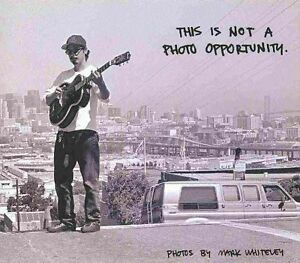 This is Not a Photo Opportunity by Gingko Press (Hardback, 2009)