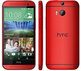 NEW HTC M8 32GB RED UNLOCKED BRAND NEW BOX SEAL PACK