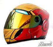 Iron Man Motorcycle Helmet