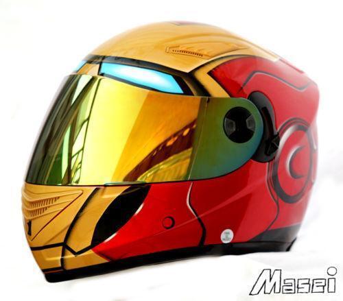 Iron Man Motorcycle Helmet Ebay